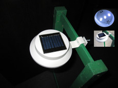 Solar Gutter Security Ultra Bright  White LED Light