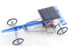 Solar Race Car, Solar Powered and Assembly Required, 8+
