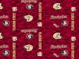Florida State Seminoles Fleece Blanket Fabric-Digi Camo Design-Sold By The Yard