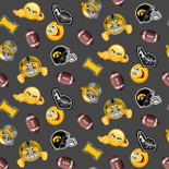 Iowa Hawkeyes Emoji FLEECE Design