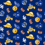 Kentucky Wildcats Emoji FLEECE Design
