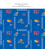 KANSAS JAYHAWKS DIGITAL CAMO FLEECE ALLOVER DESIGN