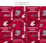 WASHINGTON STATE DIGITAL CAMO FLEECE ALLOVER DESIGN