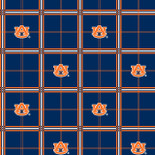 Auburn University Flannel Fabric-Sold by the yard