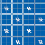 University of Kentucky Flannel Fabric-Sold by the yard