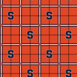 Syracuse University Flannel Fabric-Sold by the yard