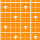 University of Tennessee Flannel Fabric-Sold by the yard