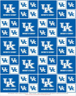 UNIVERSITY OF KENTUCKY-COLLEGE-UNIVERSITY-LOGO-PRINTED-COTTON-QUILTING-FABRIC-07