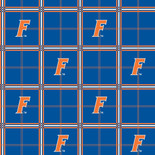 University of Florida Flannel Fabric-Sold by the yard