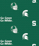 MICHIGAN STATE UNIVERSITY-COLLEGE-UNIVERSITY-LOGO-PRINTED-COTTON-QUILTING-FABRIC-03