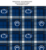 PENN STATE UNIVERSITY-COLLEGE-UNIVERSITY-LOGO-PRINTED-FLEECE-NO SEW FLEECE BLANKET-FABRIC-01