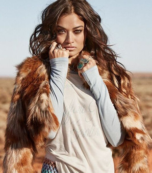 THE NOMAD FAUX FUR JACKET - SPELL