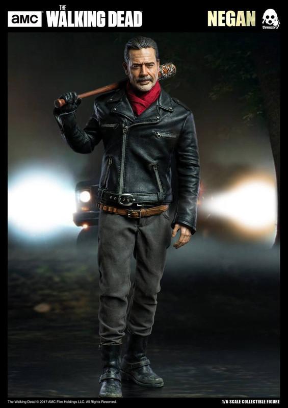 Jeffrey Dean Morgan The Walking Dead Negan 1:6 Scale Action Figure