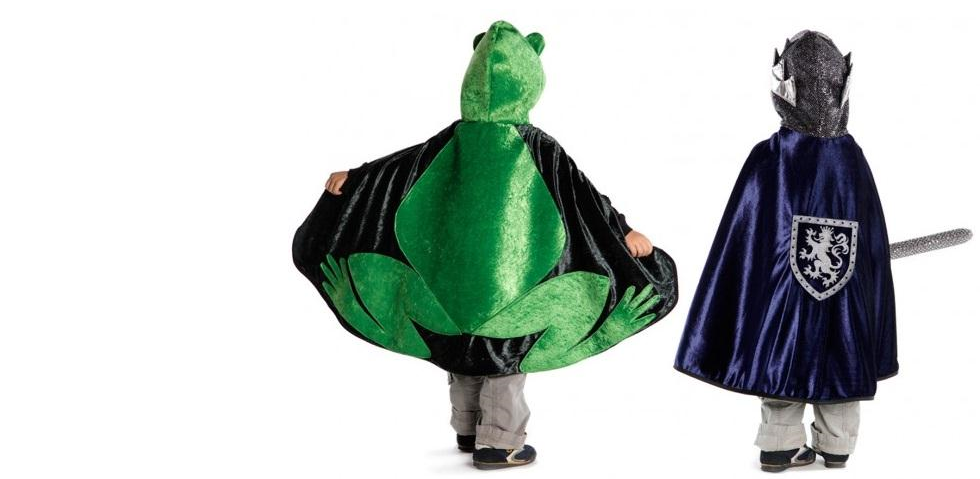 Frog Prince Reversible Cape
