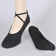 Adult Cloth Dance Slipper