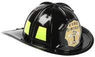 Black Jr. Firefighter Helmet