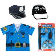 Police 4 Piece Play Set