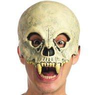 Fanged Skull Mask