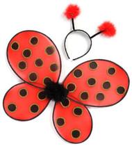 Ladybug Wings and Headband