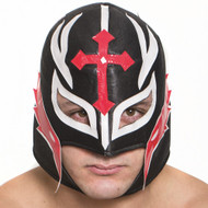 Black Wrestling Mask