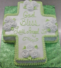 Model# 51990 - Cross Cake (1/2 Sheet)