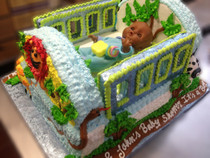 Model# 41024 Baby Crib