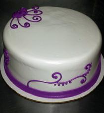 Round Cake Wind Deco