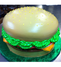 Model# 91005 - Cheese Burger Deluxe Cake