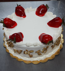Tres Leches Cake Strawberry & Nuts (F-21)