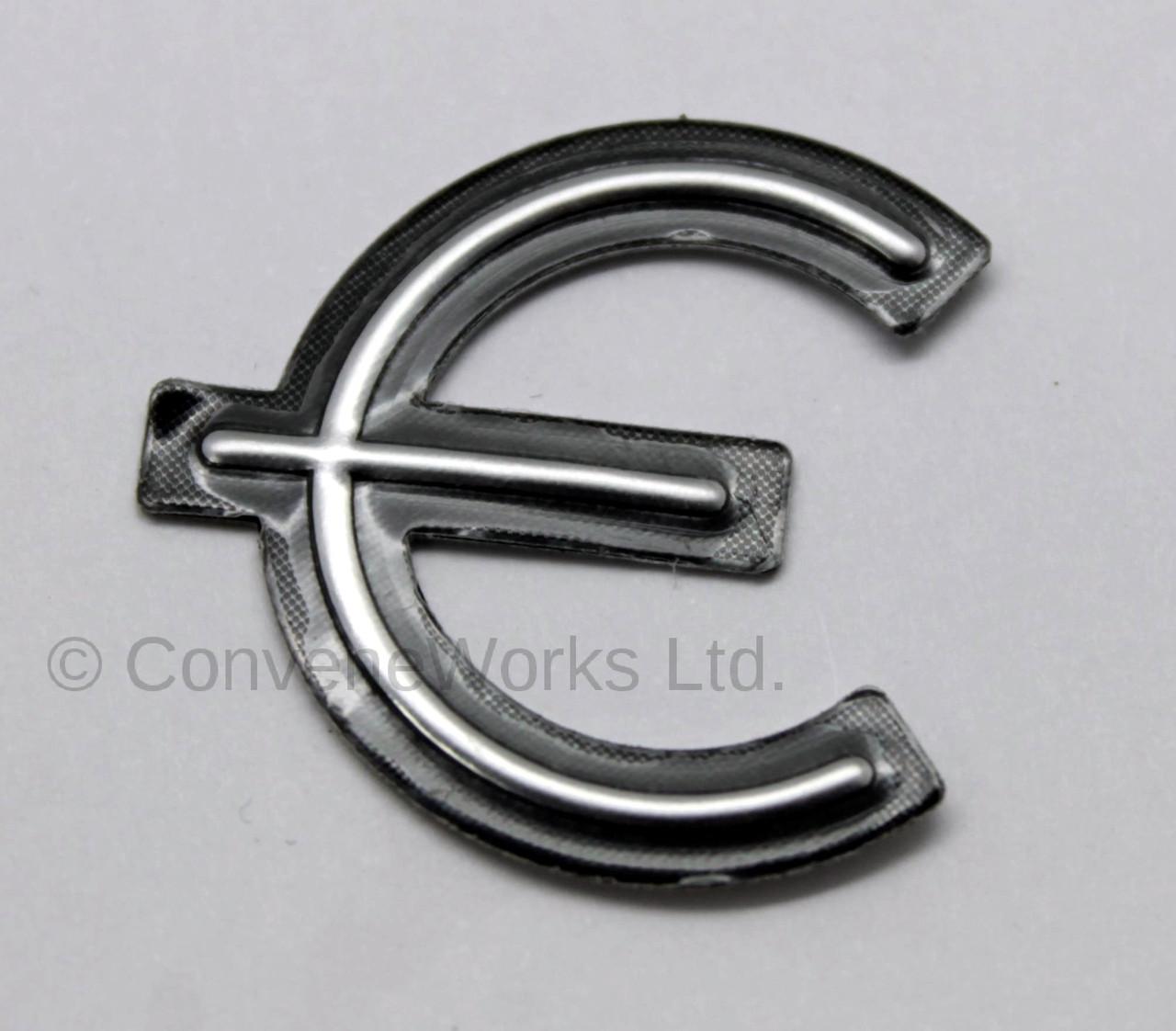 epiphone u00ae e logo  pickguard badge  metal decal