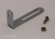 Les Paul & archtop  pickguard scratchplate bracket / arm (Short)