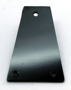 Truss Rod Cover, Plain, Squared Top