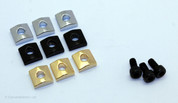 Locking Nut Clamp Set (3 Cap Screws, 3 Blocks)