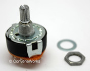 Alpha Rotary Switch w/ Dust Seal