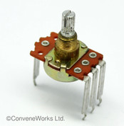 "Peavey 1M Audio 5% ""Spider"" Potentiometer (Part No: 31190305 / 71190313)"
