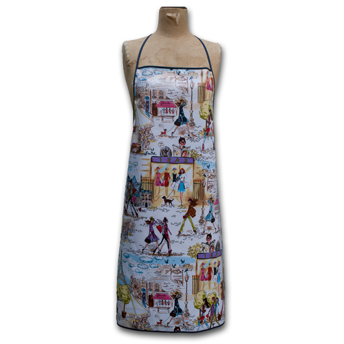 Ariella Handmade Adult Waterproof French Chic Apron - Front