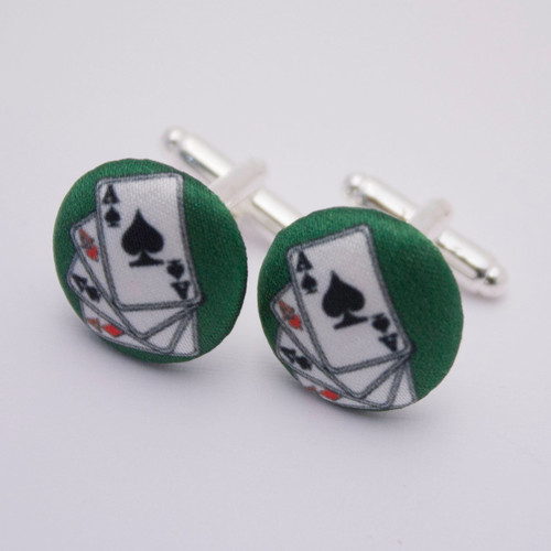 Ariella Playing Cards Cufflinks