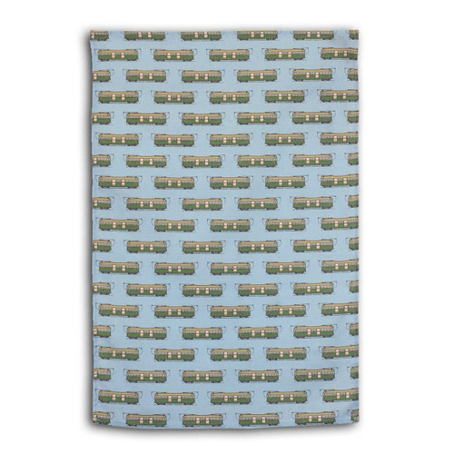 Ariella Melbourne Made Tram Tea Towel (blue)