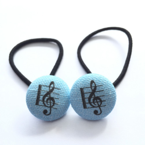 Ariella Blue Music Hair Ties