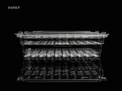 TAC-PAC® H450LP Handgun 50 Count Clear Ammo Box - Empty