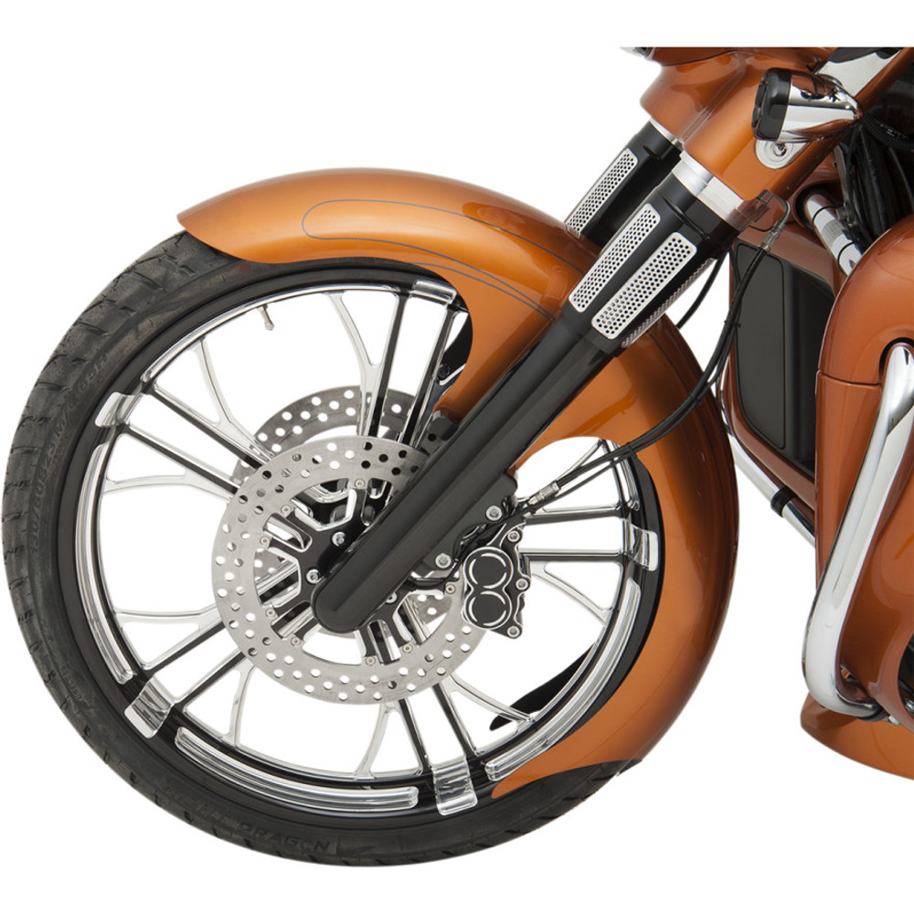 Harley Touring Fenders : Paul yaffe bagger nation talon front fender for harley