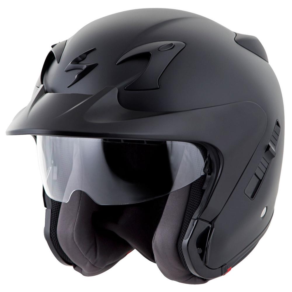 scorpion exo ct220 open face motorcycle helmet get. Black Bedroom Furniture Sets. Home Design Ideas