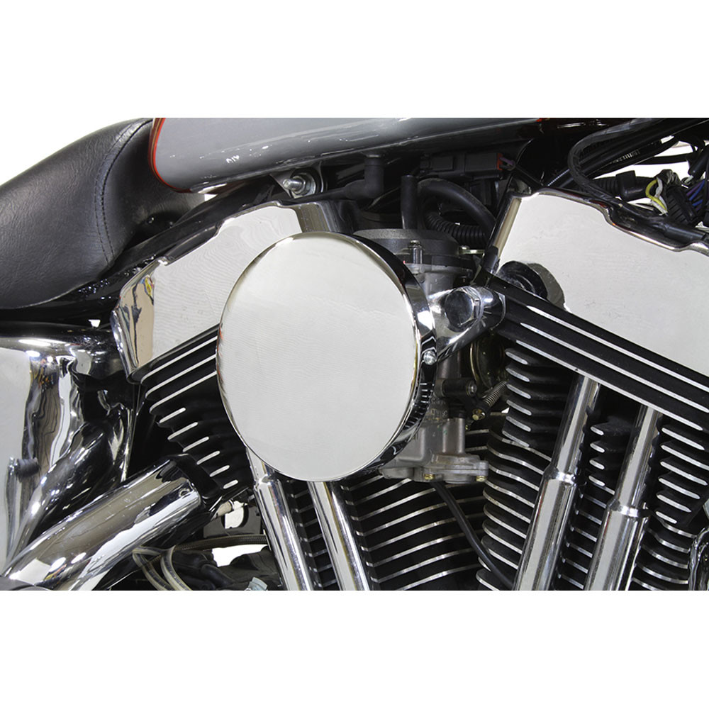 Moon Air Cleaner : V twin chrome baby moon air cleaner for  harley