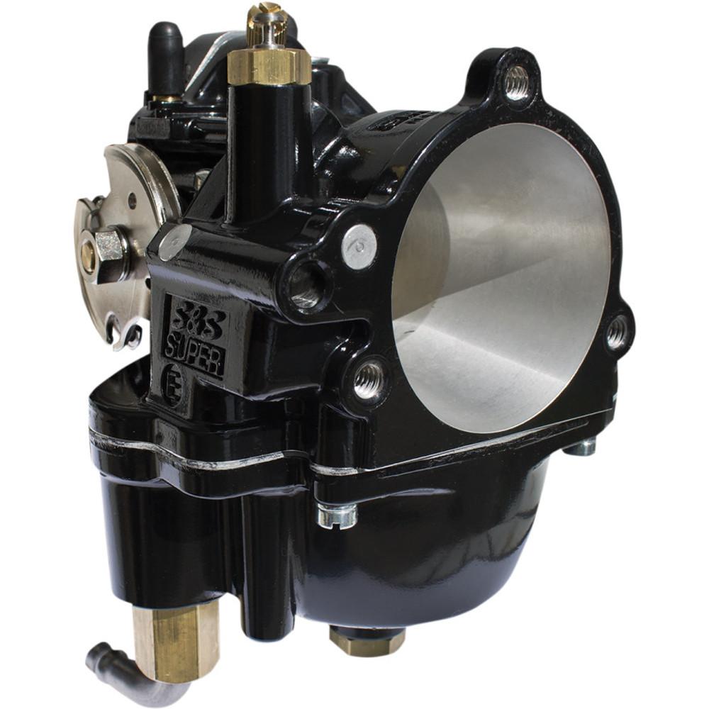 S&S Black Super E Carburetor for Harley