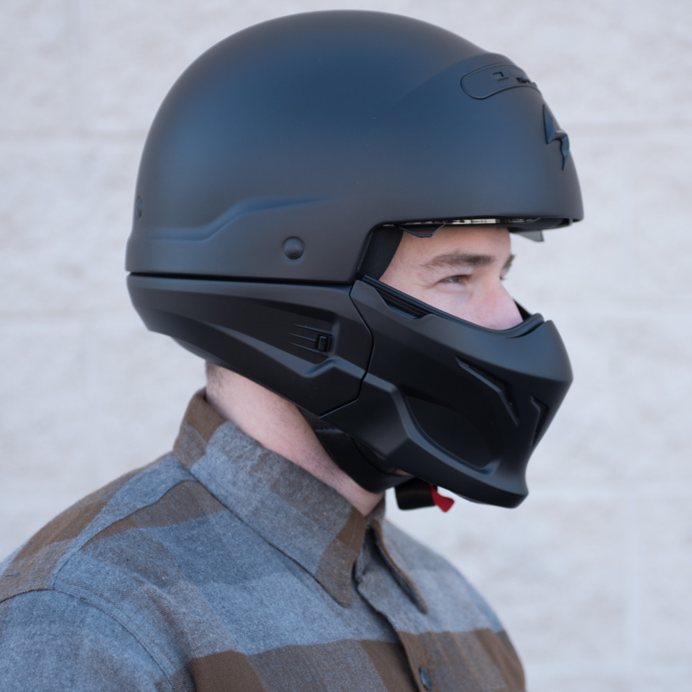 Motorcycle Riding Pants >> Scorpion Covert Convertible Modular Motorcycle Helmet - Get Lowered Cycles