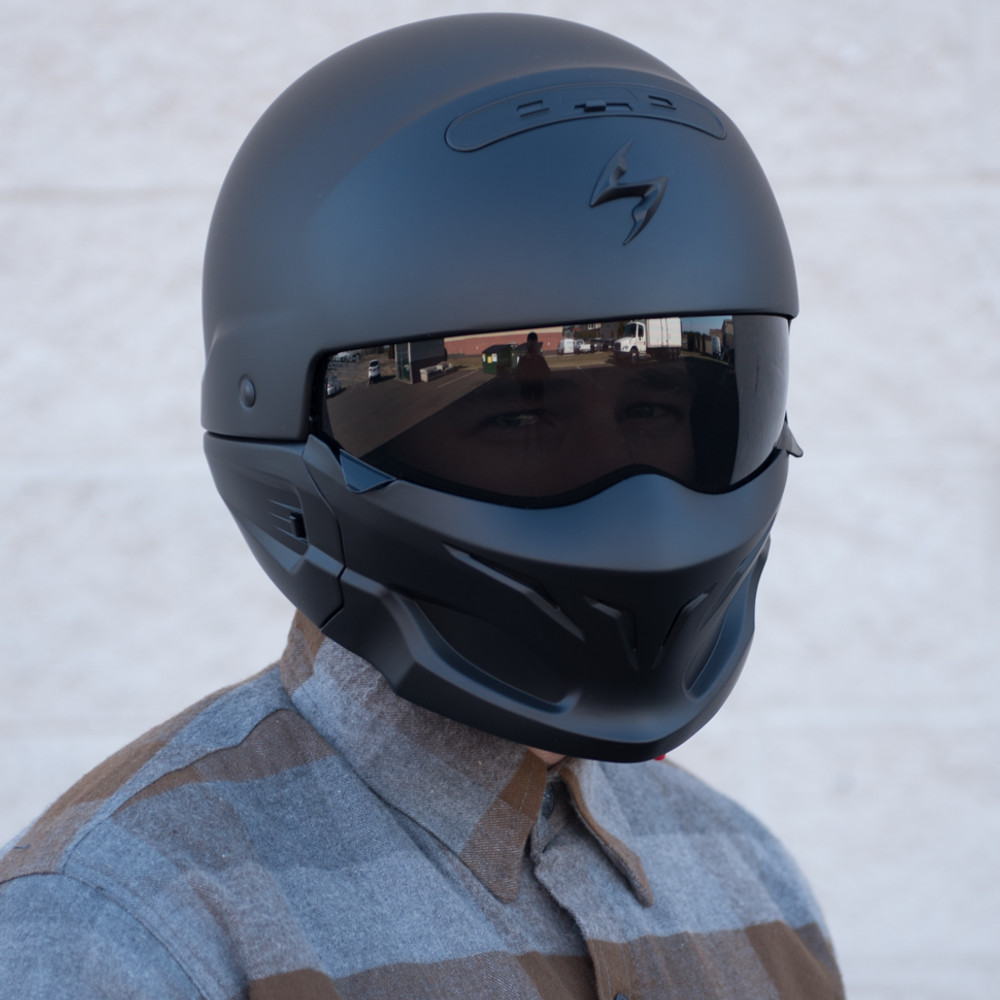 Scorpion Covert Convertible Modular Motorcycle Helmet ...