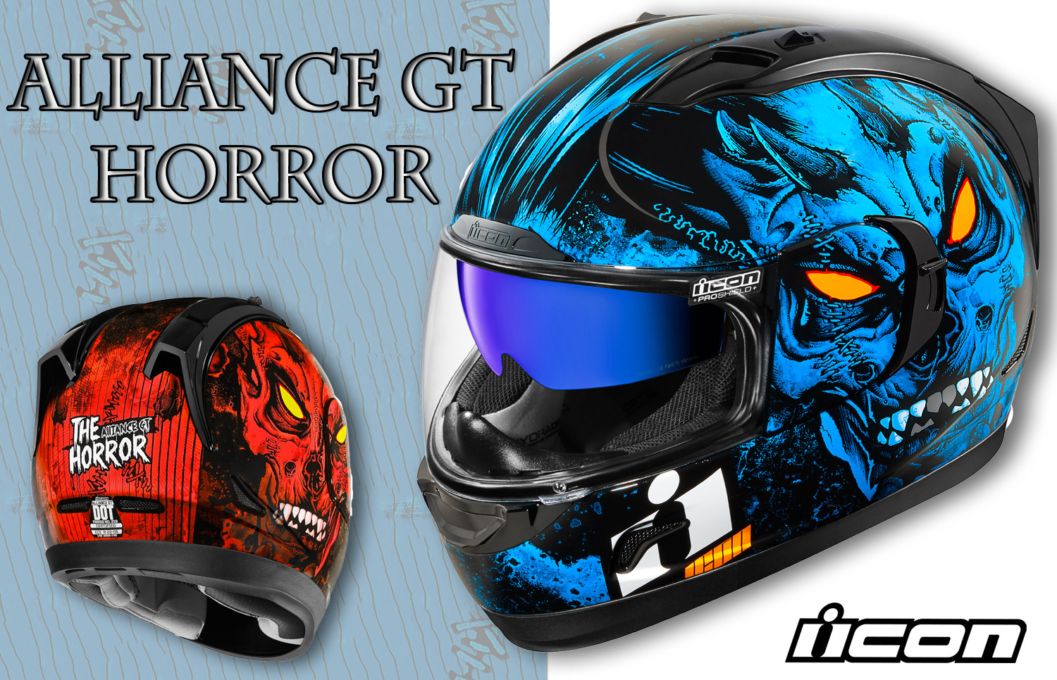 New Alliance GT Horror Helmet from Icon