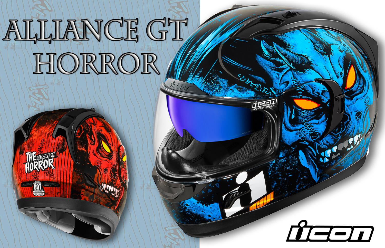 New Alliance GT Horror Helmet from Icon