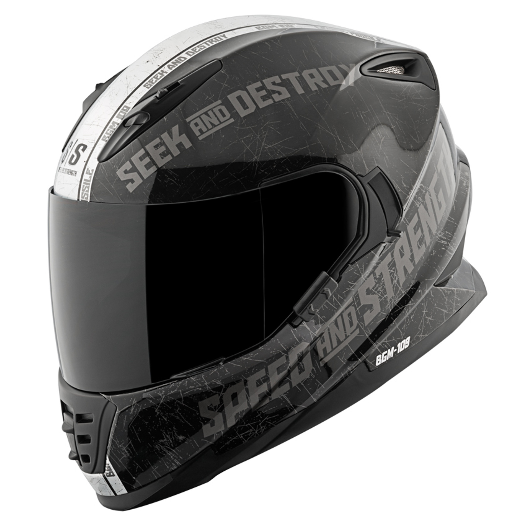 Speed And Strength Ss1600 Cruise Missile Motorcycle Helmet Get Lowered Cycles