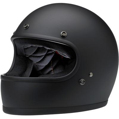Biltwell Gringo Helmet - Flat Black